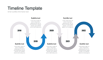 timeline template with pictures