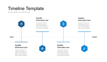 A Large Collection Of Timeline For Keynote Free Download Now - Timeline chart template