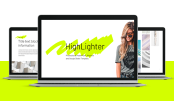 Company Report Highlighter Keynote