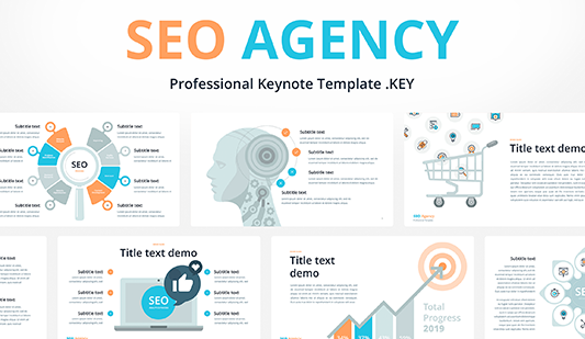 Presentation template SEO Agency