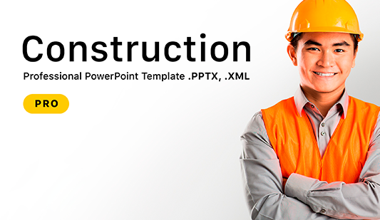 Constructions Company PowerPoint Template