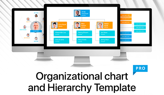 Organization charts in PowerPoint