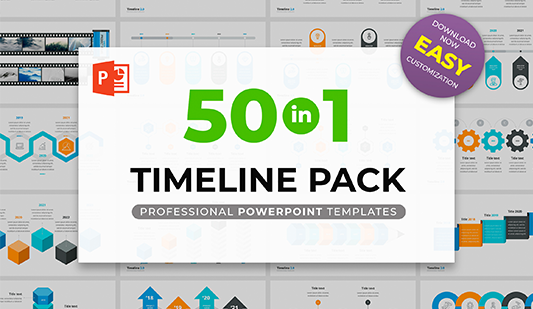 Powerpoint Timelines Pack