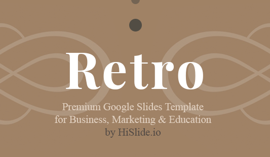 Retro Google Slides Template Free