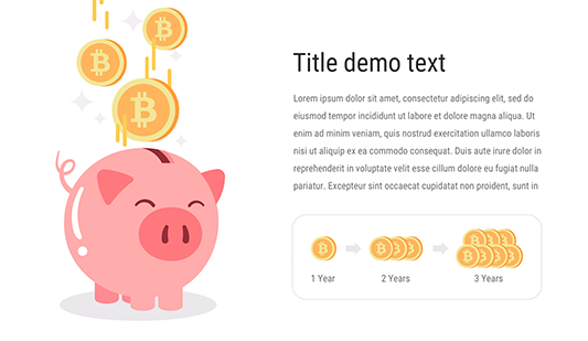 Bitcoin PowerPoint template