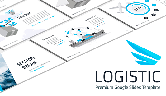 Logistics company presentation for Google Slides