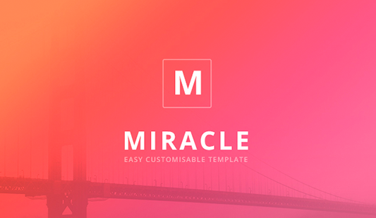 Miracle Google slide templates for business