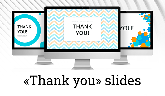 Thank you clipart for Keynote