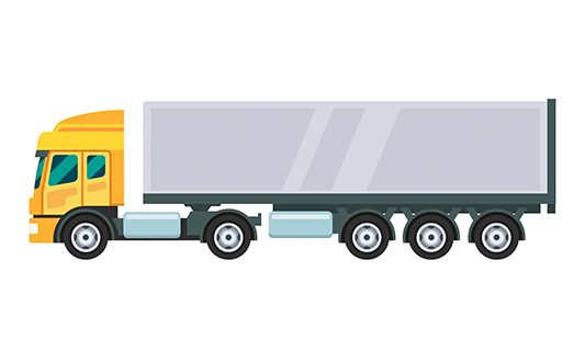 Truck template Google Slides