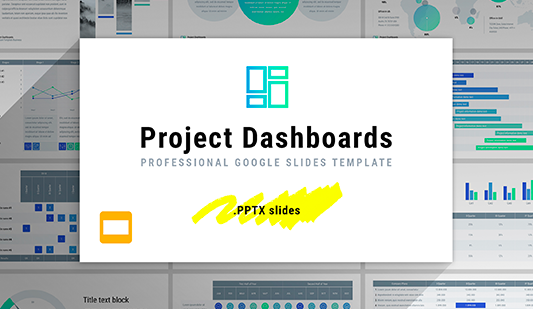 Best Project Dashboard Google slides