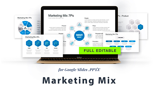 Marketing mix Google slides