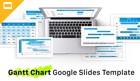 Gantt charts templates pack for Google Slides
