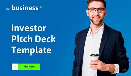 Investor pitch decks PowerPoint