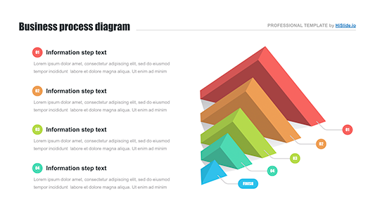 Pyramid 3d Google slides template