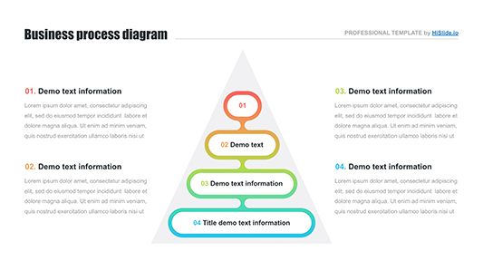 pyramid infographic for keynote download now