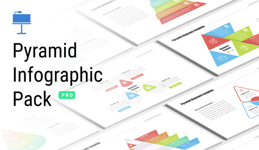 Pyramids diagrams Keynote Template