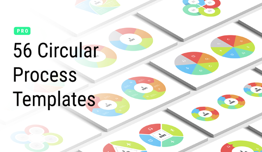 Circular flow ppt templates