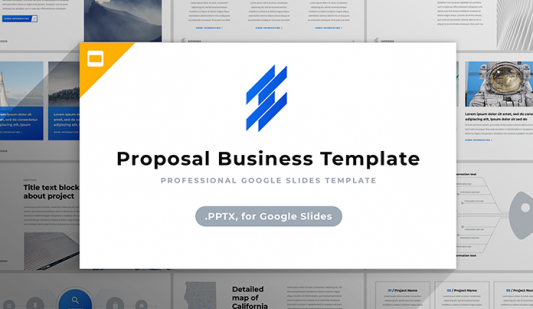 Google Business Proposal template