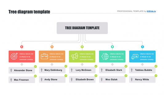 Template for tree diagram Keynote free