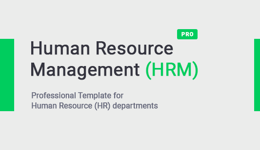 Keynote Human Resources HRM template