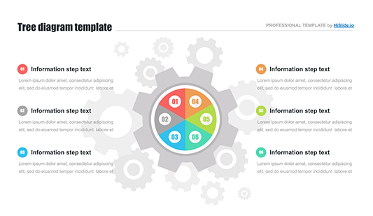 Pictures of Gears Keynote template