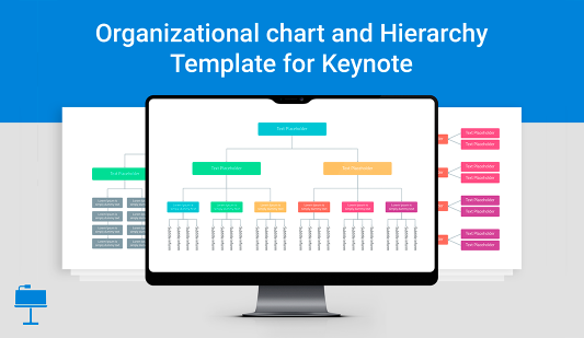 Keynote organization chart template