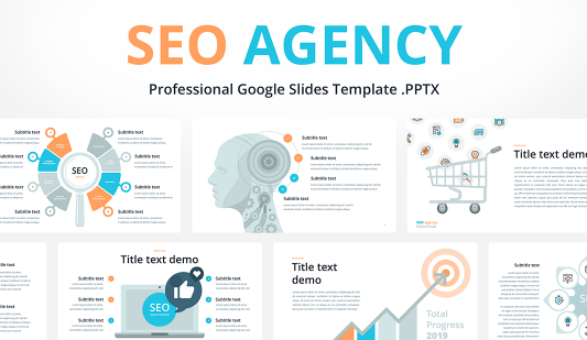 SEO presentation Google slides template