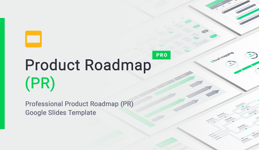 Google Product Roadmap Presentation Template