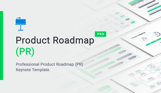 Product Roadmap Keynote Template