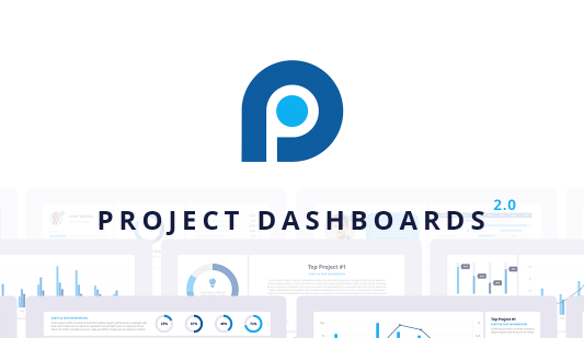 Project status dashboard PPT