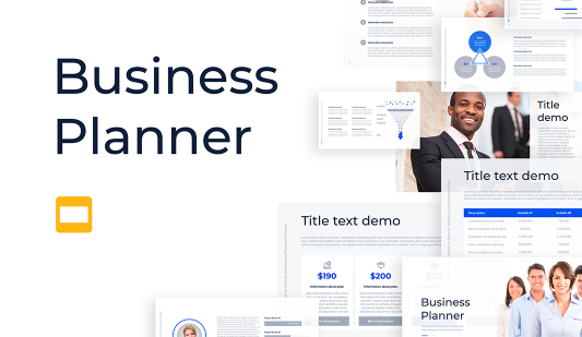 Business Planner Google Slides