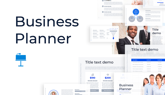 Business Startup Planner Keynote template
