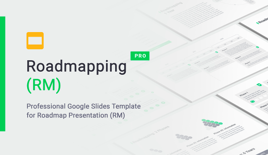 Google Slides roadmap template