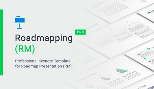 Keynote Roadmap presentation slides