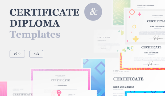 PowerPoint Certificate Templates