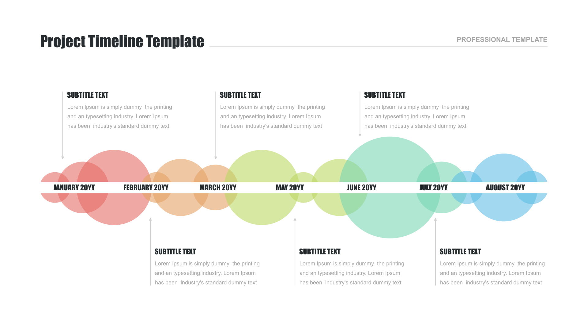 Free timeline templates for PowerPoint