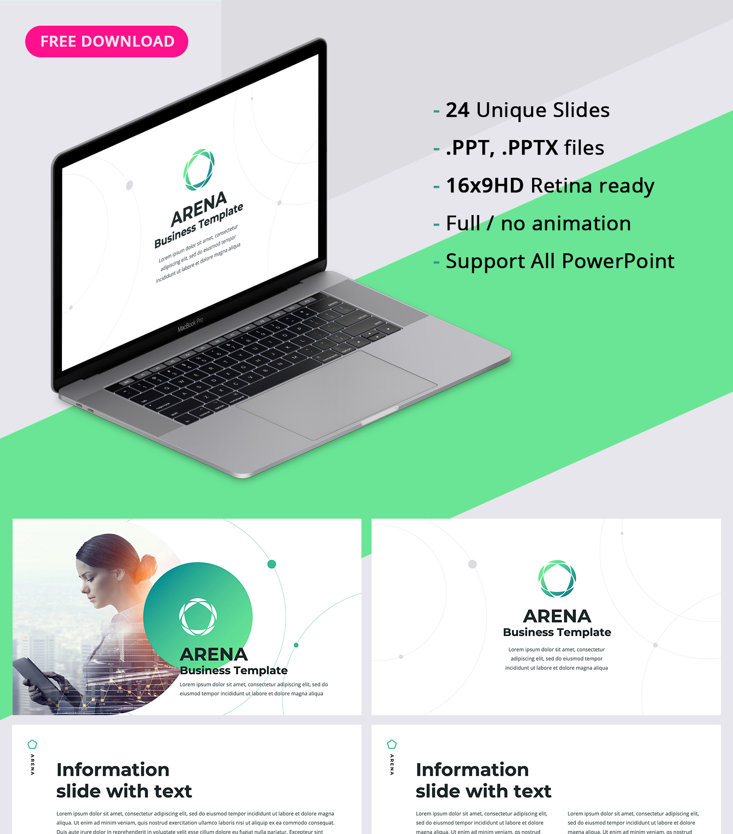 PPT Business Template free
