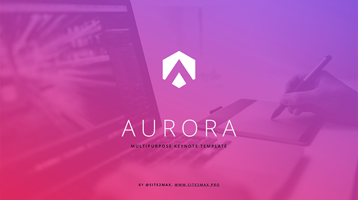 """Aurora"" free key template"