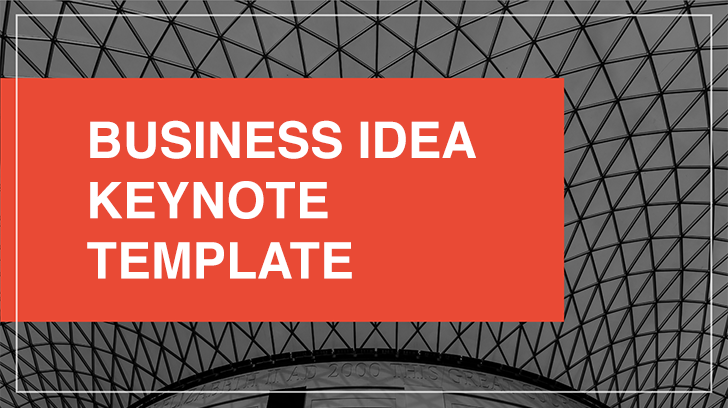 Business Idea free Keynote template