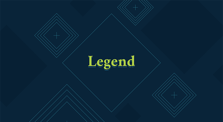 Legend free PowerPoint template