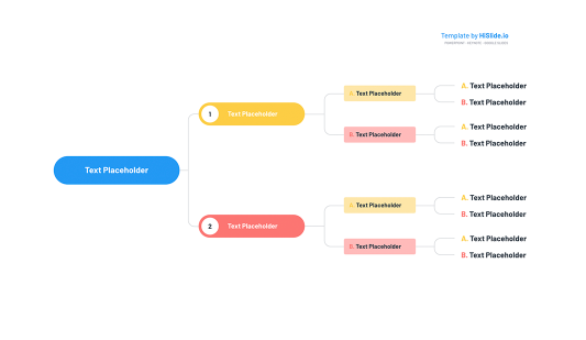 Org chart template for Google slides