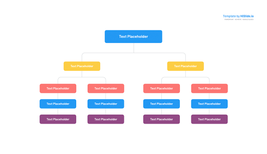 Org chart templates for Keynote PRO