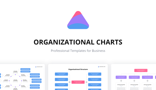 Google slides Org Chart templates