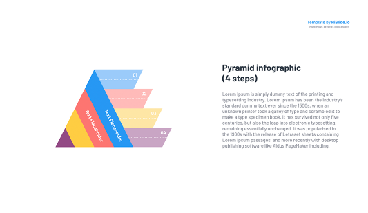 Template of a Pyramid Keynote