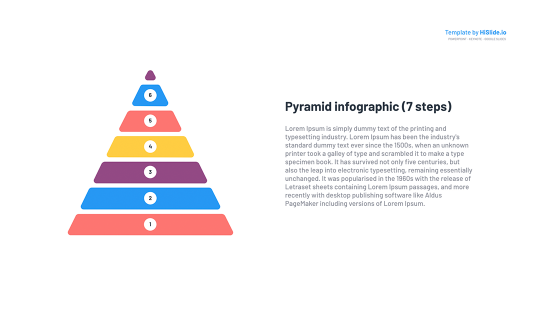 The Step Pyramid Keynote template free