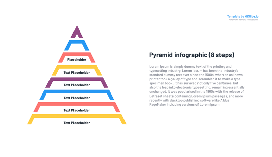 Pyramid Presentation style for PowerPoint