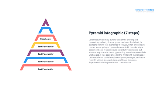 Editable Pyramid template for Google Slides