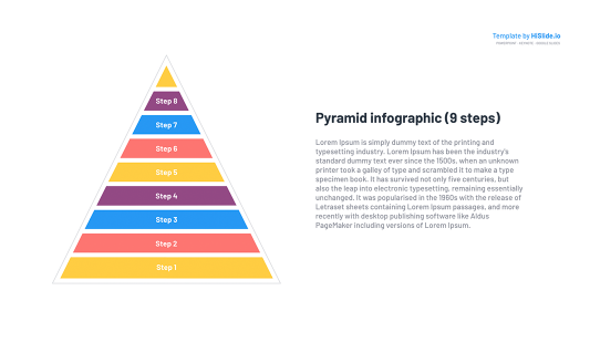 Pyramid Keynote Template free