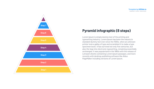 Pyramid Chart Keynote template