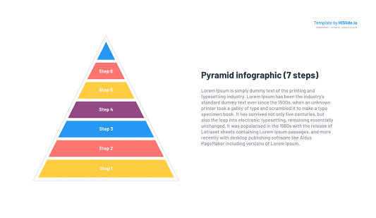 PowerPoint Pyramid Free template